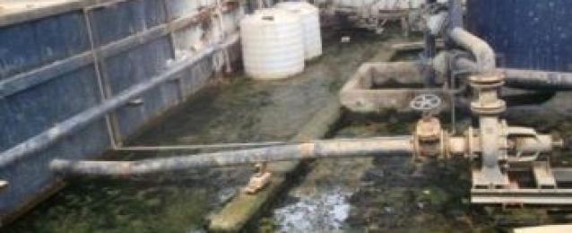 إغلاق 5 محطات مياه أهلية مخالفة ببني سويف
