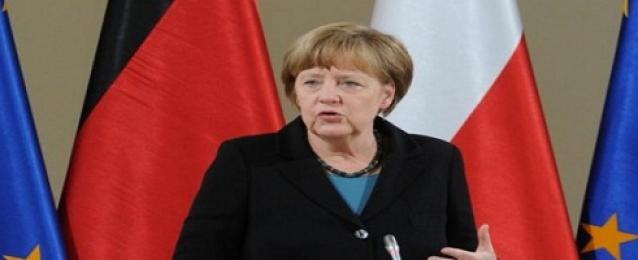 ميركل تحث الألمان على دعم اتفاقية للتجارة قبل قمة مجموعة السبع