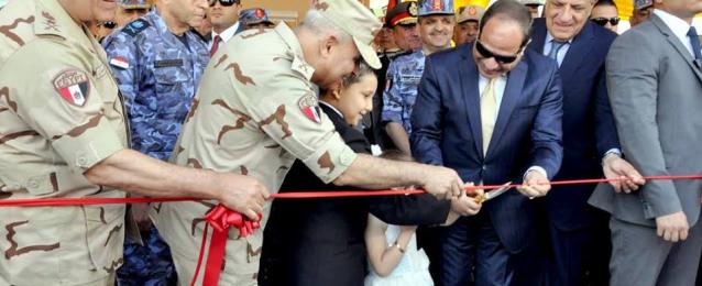 بالصور : السيسي يفتتح أعمال تطوير الترسانة البحرية بالإسكندرية