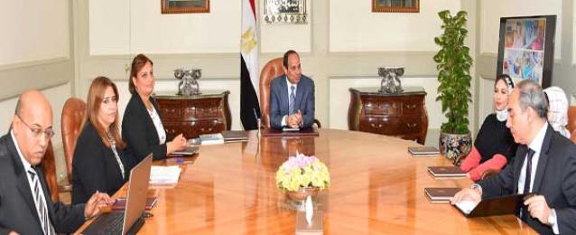 بالصور : الرئيس عبد الفتاح السيسي يبحث مشروع إنشاء مراكز للرعاية الشاملة لذوي الاحتياجات الخاصة فكريا