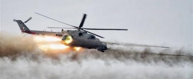 الطيران العراقي يقصف سيارات تابعة لتنظيم داعش في الأنبار