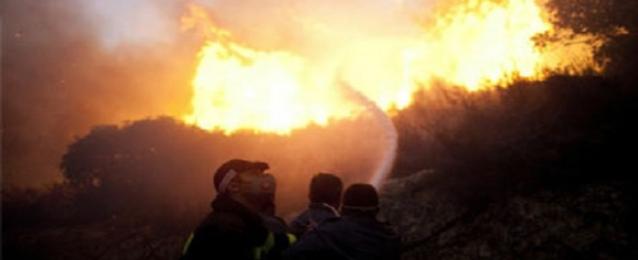 حريق هائل بمصنع كيماويات في ديمونة بإسرائيل