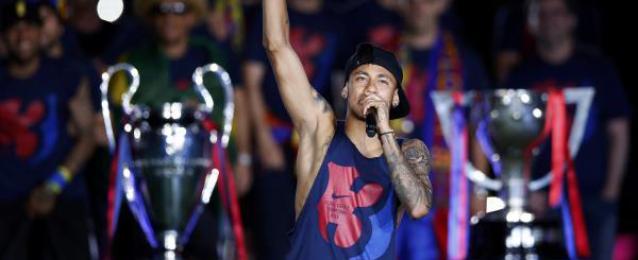 نيمار يحلم بحصد كوبا أمريكا مع السامبا البرازيلية بعد ثلاثية برشلونة