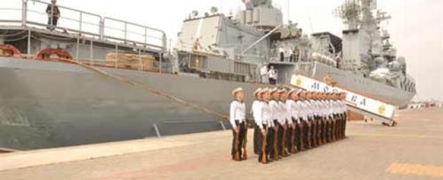 """وصول وحدات بحرية روسية إلي الإسكندرية للمشاركة في تدريب """"جسر الصداقة"""""""