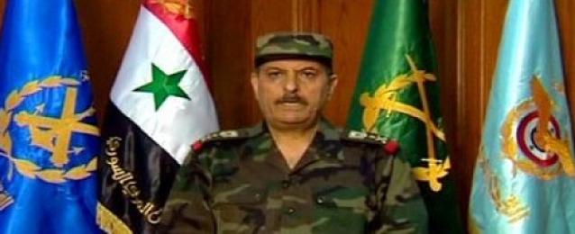 وزير الدفاع السورى يزور ريف حمص بعد عدد من الهزائم
