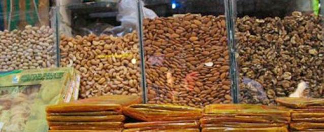 ضبط 2.5 طن ياميش رمضان منتهى الصلاحية قبل ترويجها بالأسواق