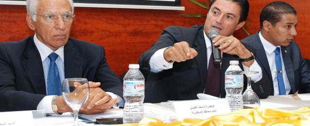 المسيري يبحث المعوقات التي تواجه المشروع القومي للتنمية بالأسكندرية