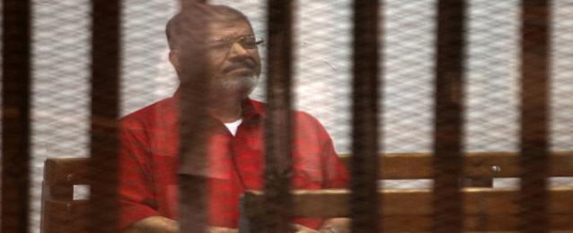 """استئناف محاكمة مرسي وآخرين في """"التخابر مع قطر"""" اليوم"""
