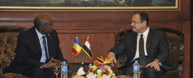 وزير الداخلية يلتقى نظيره التشادى لبحث سبل مواجهة الارهاب