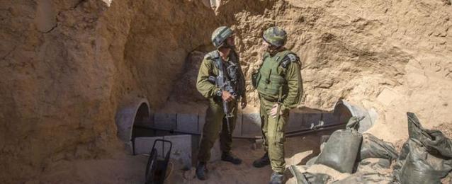 إسرائيل تقرر بناء جدار تحت الأرض على حدود غزة لمواجهة الأنفاق
