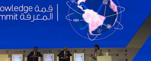 وزيرا التعليم العالي والتعليم يستعرضان استراتيجية تطوير التعليم في مصر بقمة المعرفة بدبي