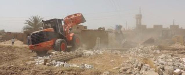 لجنة استرداد الأراضى تستعيد نصف مليون متر و8200 فدان خلال 48 ساعة