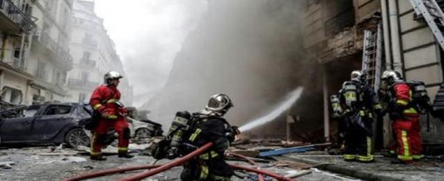 جرحى في انفجار قوي في مخبز في باريس