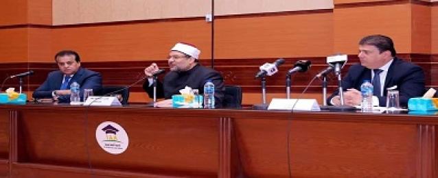.حسين زين يشارك فى افتتاح الدورة الأولى لتنمية المهارات الإعلامية للأئمة