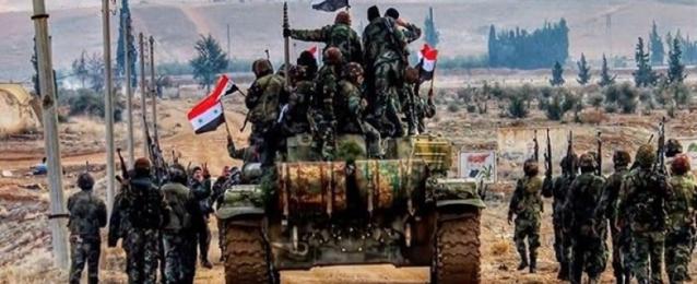 الجيش السورى يتابع تقدمه لاستعادة خان شيخون بريف إدلب