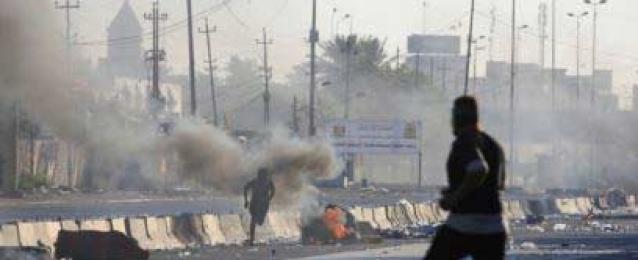 الجيش العراقي يكشف عن سقوط متظاهرين بأيدي مجهولين