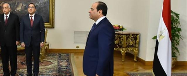 الرئيس عبد الفتاح السيسي تسلم اليوم أوراق اعتماد تسعة سفراء جدد