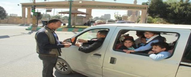 استمرار تكثيف حملات الكشف المبكرعن تعاطى المخدرات بين سائقى الحافلات المدرسية