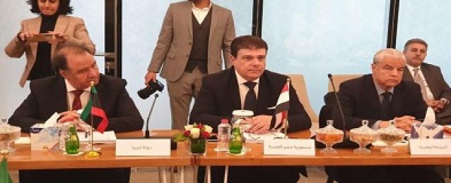 حسين زين يشارك باجتماعات الدورة العادية الحادية والخمسون لمجلس وزراء الإعلام العرب بالامارات المتحدة