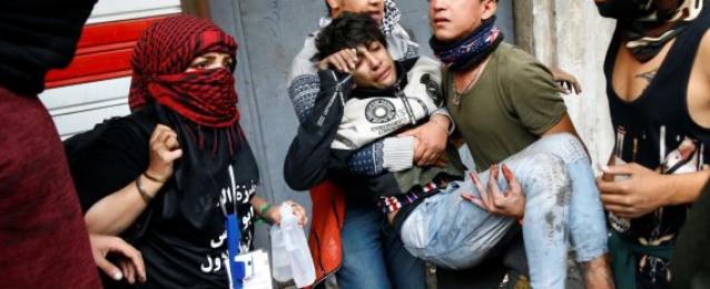 إصابة 5 متظاهرين جراء إطلاق نار وسط النجف