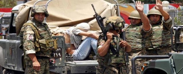"""الجيش اللبنانى يلقى القبض على 4 إرهابيين من تنظيم """"داعش"""" الإرهابى"""