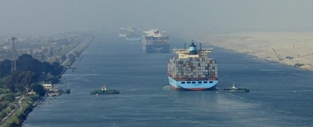 """""""الوزراء"""" ينفي تأثر حركة الملاحة بقناة السويس نتيجة """"كورونا"""""""