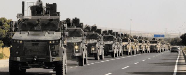 قوات عسكرية تركية تدخل الأراضي السورية