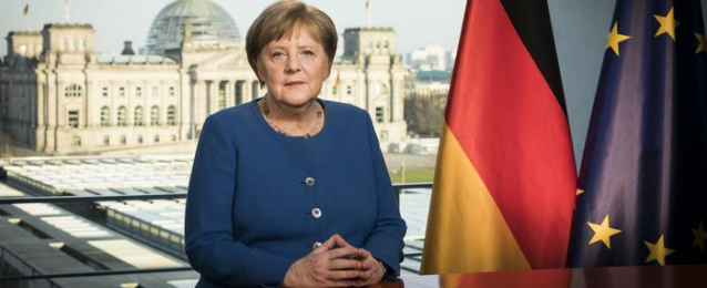 ميركل : نواجه تحديا تاريخيا بسبب كورونا الذي أصاب 33 ألفا بألمانيا
