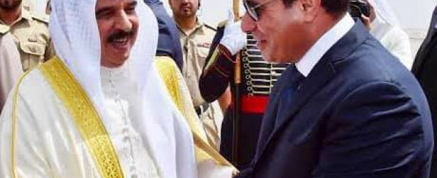 الرئيس السيسي يهنئ ملك البحرين بحلول عيد الفطر المبارك
