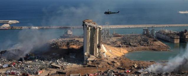 انفجار مرفأ بيروت أحدث حفرة بعمق 43 متراً
