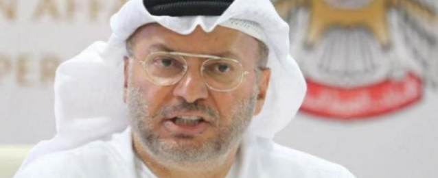 قرقاش: على تركيا التوقف عن التدخل في الشأن العربي..وتصريح وزير دفاعها استفزازي