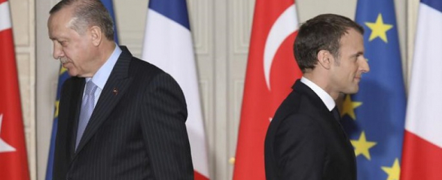 """باريس تلوح بعقوبات أوروبية على تركيا لسلوكها """"غير المقبول"""""""