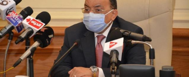 وزير التنمية المحلية يوجه بالتشديد على الإجراءات الوقائية ضد كورونا حفاظاً على المواطنين