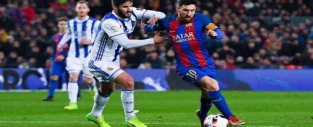 برشلونة يواجه الليلة ريال سوسيداد في نصف نهائى السوبر الاسبانى