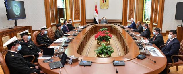 """الرئيس السيسي يثمن التعاون مع شركة """"لورسن"""" لصناعة السفن والمدمرات"""