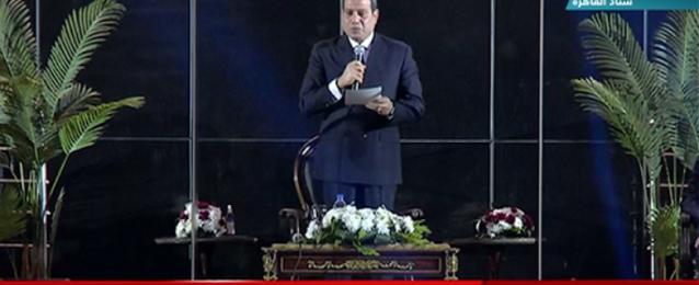 الرئيس السيسي يعلن افتتاح بطولة العالم الـ 27 لكرة اليد للرجال