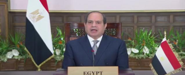 الرئيس السيسي يؤكد في كلمته خلال جلسة الأمم المتحدة لمناقشة أهداف التنمية المستدامة مواصلة مصر تنفيذ برنامجها للإصلاح الاقتصادي