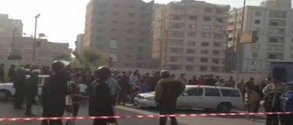 الداخلية: مصرع حارس عقار وإصابة زوجته وطفليه فى انفجار بالمعادى