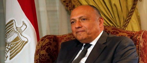 وزير الخارجية يعود إلى القاهرة قادما من أمريكا