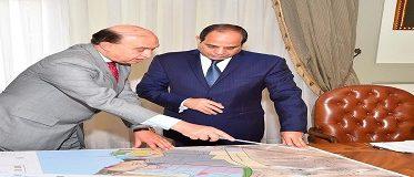 اجتمع السيد الرئيس/ عبد الفتاح السيسي اليوم مع السيد الفريق/ مهاب مميش رئيس هيئة قناة السويس ورئيس الهيئة العامة الاقتصادية لمنطقة القناة.