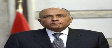 شكري يبحث مع رئيس البرلمان العربي مكافحة الارهاب والأوضاع بالمنطقة