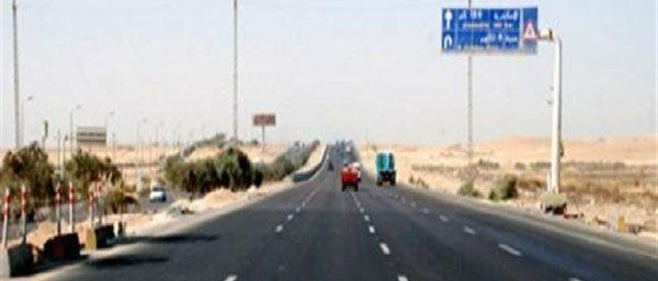 """اليوم.. إغلاق جزئي لطريق """"القاهرة - الإسكندرية"""" الصحراوي"""
