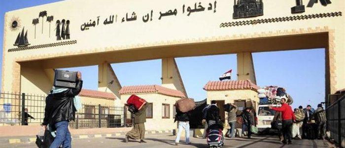 عودة 265 مصريا من ليبيا عبر منفذ السلوم